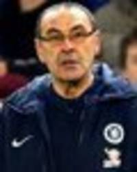 maurizio sarri will be sacked if chelsea lose to man city, pundit says blues are in crisis