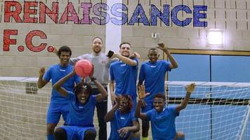 FA People's Cup: Renaissance FC - a 'new beginning' for refugees united over football