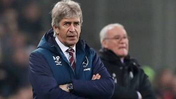 west ham 3-1 fulham: manuel pellegrini pleased with reaction to going a goal down