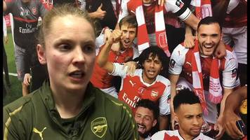 women's league cup final: kim little on arsenal's 'great respect' for man city