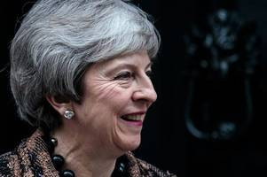 theresa may bracing for mass conservative mp revolt to block no-deal brexit