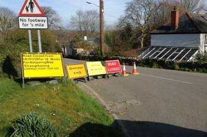 work to fix collapsing road in boscastle could take four months