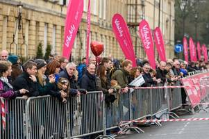 all the road closures that will be in place for bath half marathon 2019