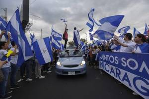 nicaragua's ortega says he's open to talks with protesters after hundreds killed last year