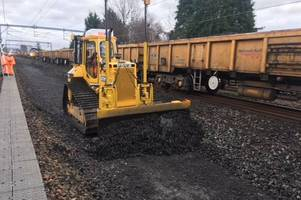 engineering works to affect line between glasgow central and ayr