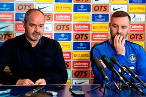 in full: every word from steve clarke and kris boyd's press conference today