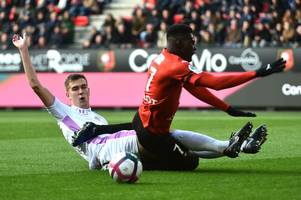 'ismaila sarr on trial' excited arsenal fans to get close up view of key transfer target