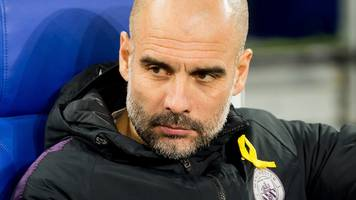 guardiola sends best wishes to critically injured man city fan