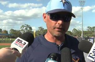kevin cash breaks down rays' offense, defense showing after spring training debut vs. phillies