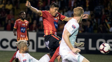 watch: herediano exposes atlanta united's defense in first leg of concacaf champions league match