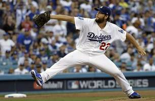 dodgers ace kershaw expected to resume throwing next week