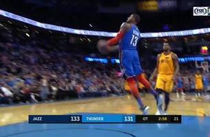 MUST-WATCH: Paul George, Thunder seal 2OT victory over Jazz