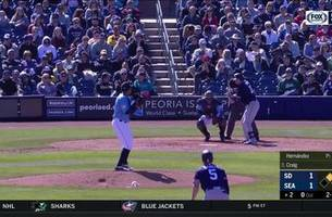 highlights: padres top mariners in spring training opener