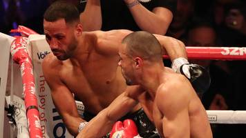 chris eubank jr stuns james degale with a points win at o2 arena