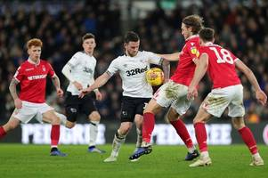 sky pundit predicts score of derby county's clash at nottingham forest