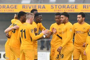 gary johnson delighted as 'exceptional' torquay united return to national league south summit