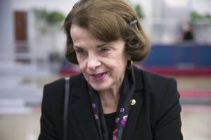 dianne feinstein, students have tense debate over climate change