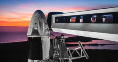 nasa clears spacex crew dragon's first test flight