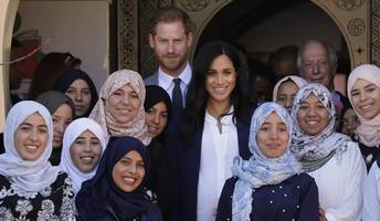 meghan and harry start whirlwind tour of morocco amid security concerns