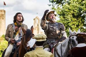 adam driver, jonathan pryce lose sight of reality in first trailer for terry gilliam's 'the man who killed don quixote' (video)