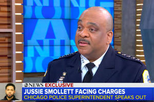 chicago pd superintendent: 'there's a lot more evidence' jussie smollett staged attack (video)