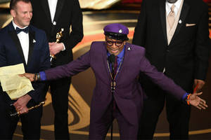 watch and read spike lee's oscar acceptance speech that trump called 'racist' (video)