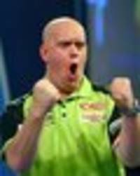 uk open darts draw and schedule: full rundown with van gerwen and gary anderson in action