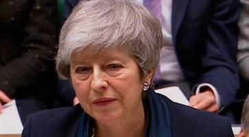 theresa may to allow brexit delay if no-deal rejected - mps will get vote