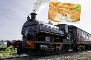 savour one of the nation's favourite meals on a beautiful evening steam train ride