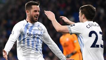 sigurdsson scores twice as everton add to cardiff's relegation worries
