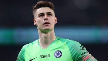 we don't want to kill kepa but i haven't decided if he will start - sarri