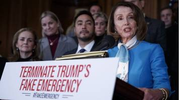 house votes to block trump border wall national emergency