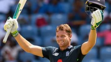 england in west indies: jos buttler and eoin morgan hit brutal centuries for england