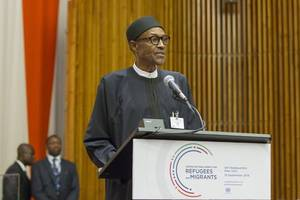 nigeria's president is re-elected after delayed, bumpy vote