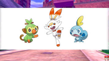 here are pokémon sword and shield's new starters