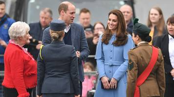 prince william and kate begin second day of ni trip