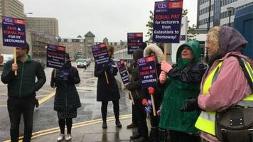 college lecturers' pay strike talks break down