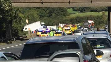 m5 crash that killed five 'unavoidable', inquest hears