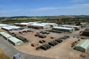 rm chivenor saved as defence secretary says it will remain a royal marine base