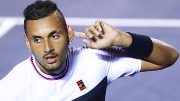 'there's a reason he is where he is' - nadal says kyrgios lacks respect