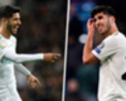 how asensio has failed to explode at real madrid in post-ronaldo era