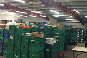 can you help this bristol foodbank find a new storage unit?
