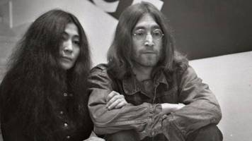 john lennon and yoko ono's first gig in 1969 celebrated