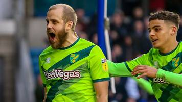 millwall 1-3 norwich city: canaries return to top as pukki scores again