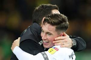 frank lampard backs harry wilson to shine again for derby county