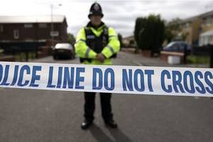 two police officers injured after being attacked in gloucestershire