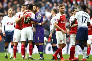 match of the day running order announced as arsenal, spurs, palace and west ham all feature