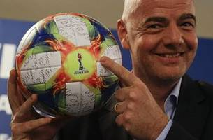 infantino says joint korean women's world cup bid possible