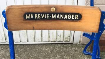 leeds utd legends' names found on chairs by local barber