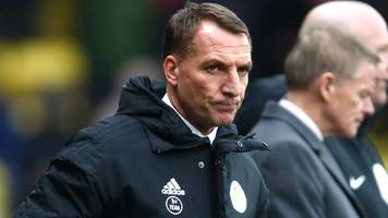 leicester lose late on to watford in rodgers' first game